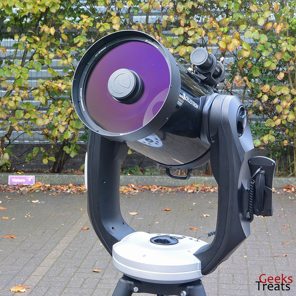 how to connect celestron telescope to computer