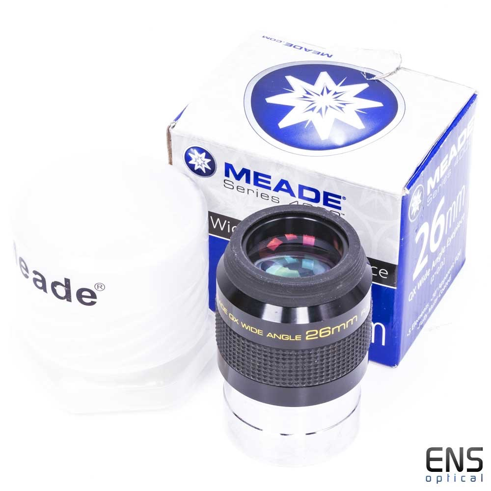 """Meade 26mm QX 2"""" Wide Angle/Widefield Telescope Eyepiece"""