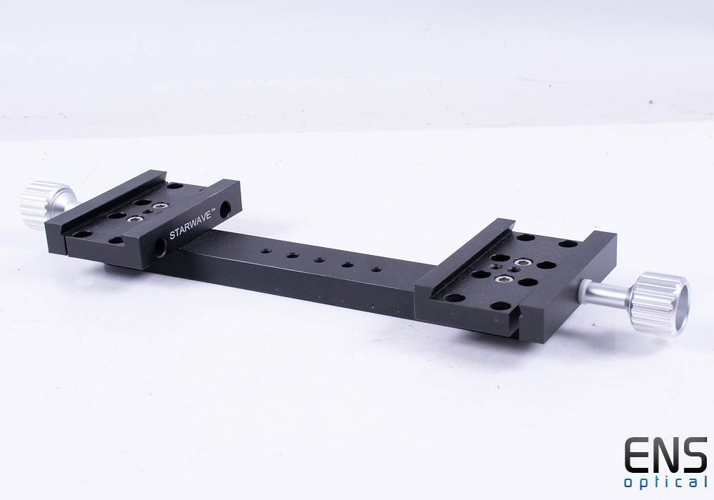 Starwave Dual VixenSynta 1.75 inch side by side dovetail bar kit 230mm