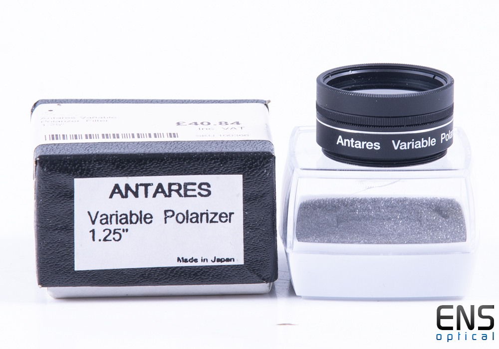 "Antares Variable Polarizing Filter - 1.25"" Boxed"