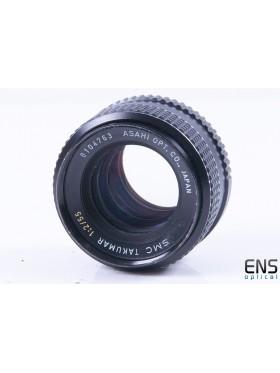 Asahi Takamur 55mm f/2 Wide Angle Prime Lens - 8104763 JAPAN