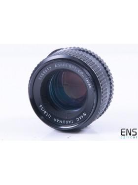 Asahi Takamur 55mm f/1.8 Wide Angle Prime Lens - 6569613 JAPAN