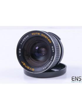 Avanar 28mm f/2.8 M42 Fast  Prime Wide-Angle Lens