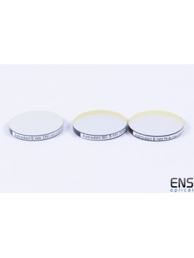 Astrodon 28mm Unmounted HA OIII SII 5NM Narrowband Imaging Filter Set