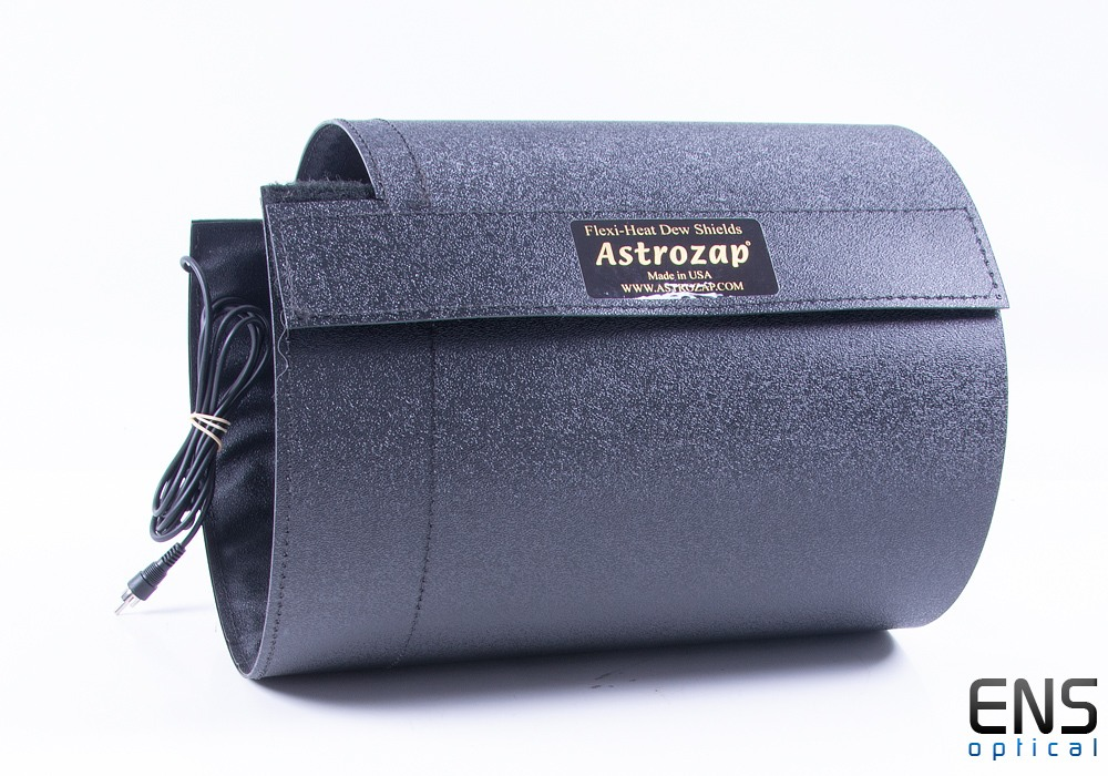 """AstroZap Flexible Notched Heated Dew Shield for 7-7.5"""" OD"""