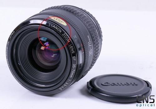 Canon 35-70mm f/3.5-4.5 EF Zoom Lens - 1087797 JAPAN
