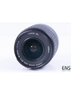 Canon 18-55mm f/3.5-5.6 EF-s Standard Zoom Lens - 9230512094 AR