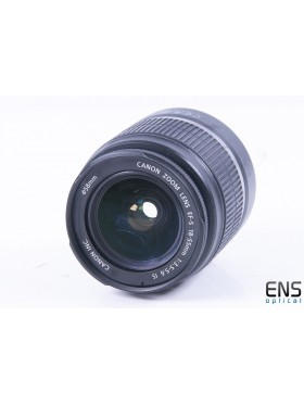 Canon 18-55mm f/3.5-5.6 EF-s Fit IS Standard Zoom Lens - 5352603207 *READ*