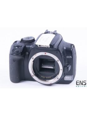Canon EOS 400D Digital SLR Camera - 1781110713 *SPARES*