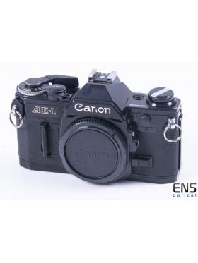 Canon AE-1 Program 35m Film SLR Camera Black - 1209446