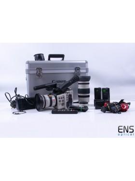 Canon Canovision EX1 Hi , 8mm Video Camcorder Bundle *READ*