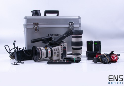 Canon Canovision EX1 Hi , 8mm Video Camcorder Bundle *READ*
