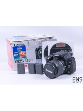 Canon EOS 350D DSLR Digital Camera 18-55mm zoom Bundle - IR Astro Modded