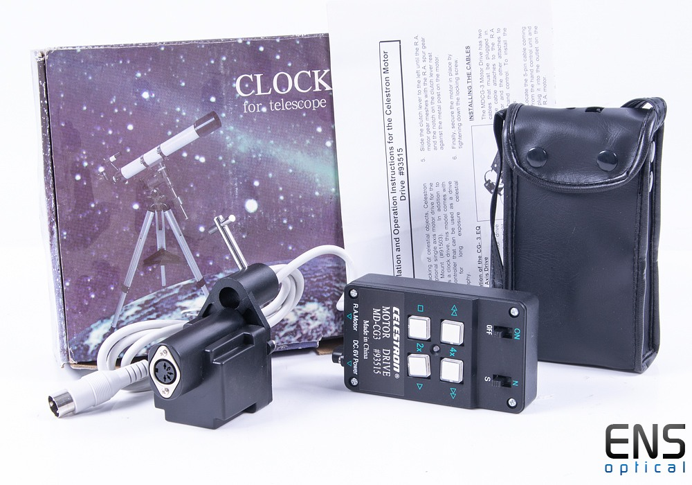 Celestron Clock Drive for CG3 Equatorial Mounts - New old stock - #93515