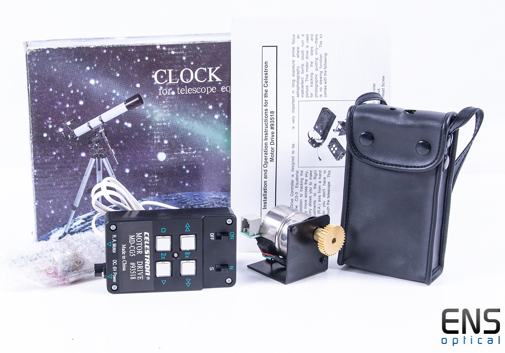 Celestron Clock Drive for CG5 Equatorial Mounts - New old stock - #93518