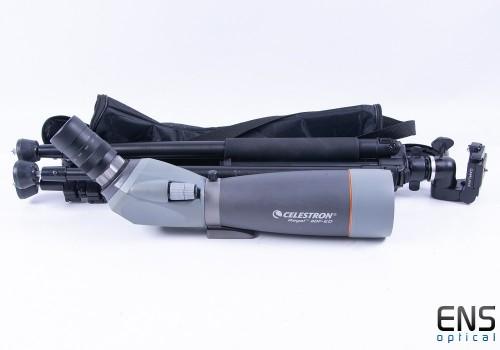Celestron 80mm Regal Spotting Scope Zoom Eyepiece Case & Tripod