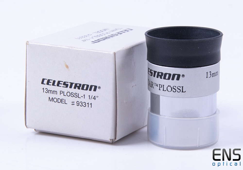 "Celestron 13mm Nexstar Plossl Eyepiece - 1.25"" Boxed"