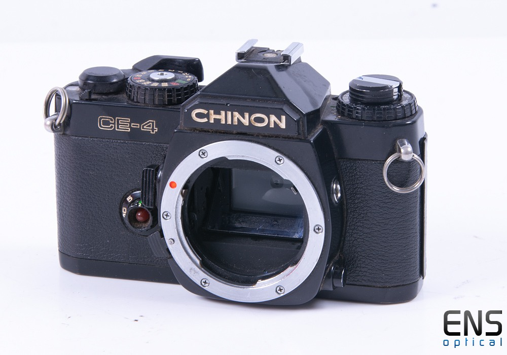 Chinon CE-4 35mm Film SLR Camera *SPARES*