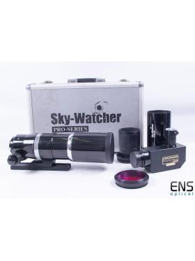 Coronado PST HA Mod with Skywatcher Equinox 80 APO