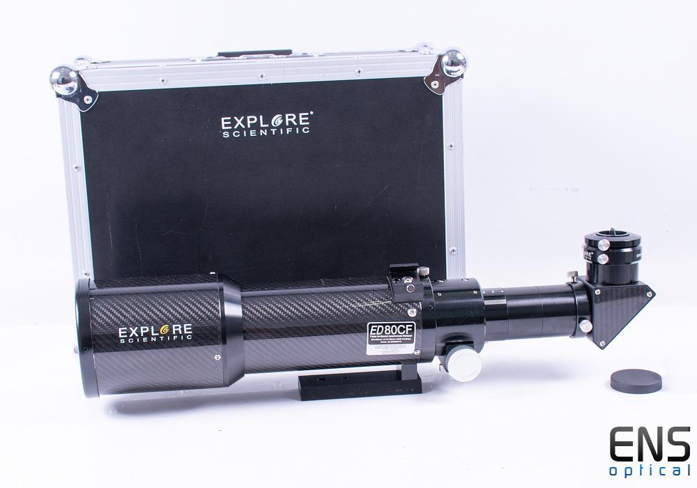 Explore Scientific ED80 F6 Triplet APO Carbon Fibre Refractor Telescope
