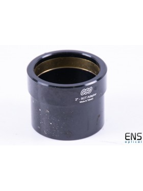 """GSO SCT 2"""" Visual Back Adapter with Compression Ring"""
