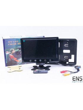 "Generic 9"" TFT Monitor - 12v  -  ideal for DVD/VCD/Camera"