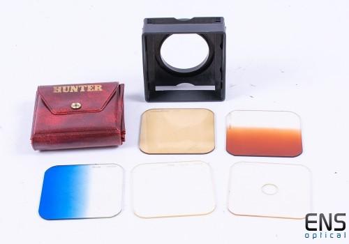 Vintage Hunter 65x65mm Lens Filter Set with Cradle