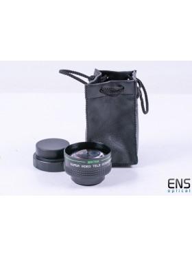 Britek 2.0x Teleconversion Lens 37mm thread - JAPAN