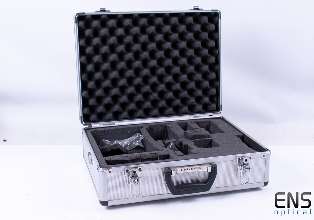 Aluminium Flight Case with Foam - Useful for eyepieces astronomy