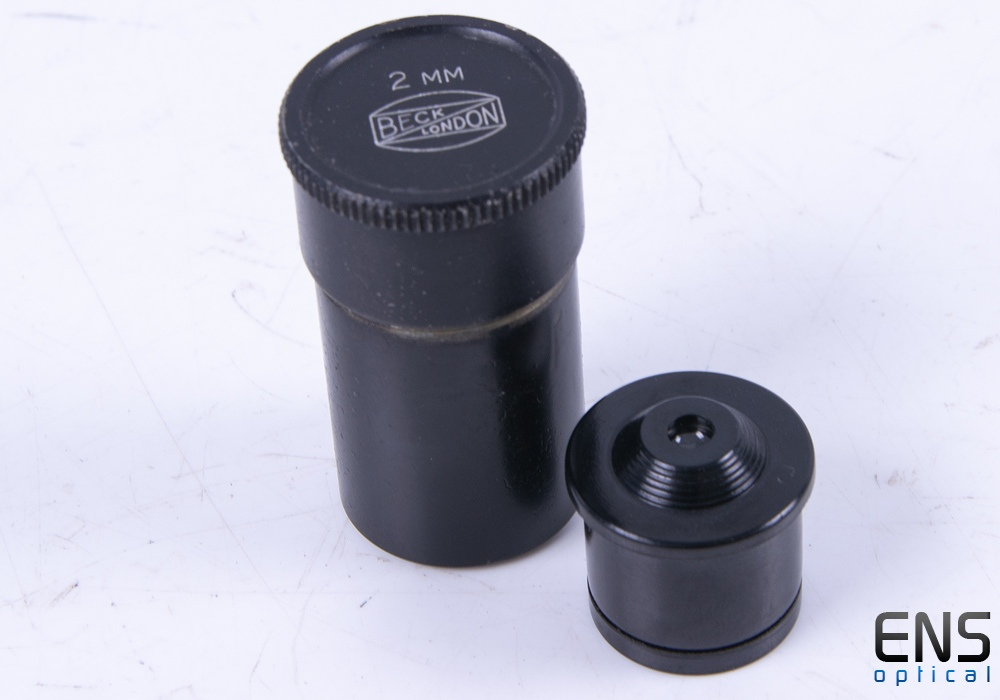 Beck London 2mm Microscope Eyepiece with Case