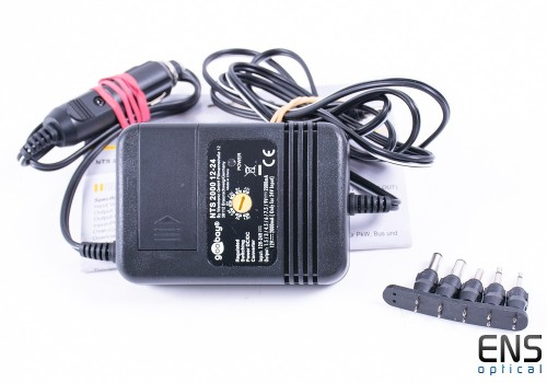 Car 12v 2A Switching Mode Power Adapter - Ideal for astronomy