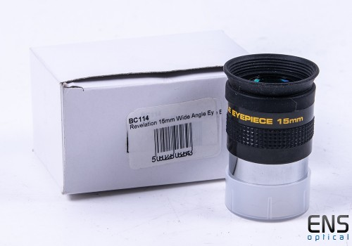"""Meade QX Clone 15mm Wine Angle Eyepiece - 1.25"""" Boxed"""