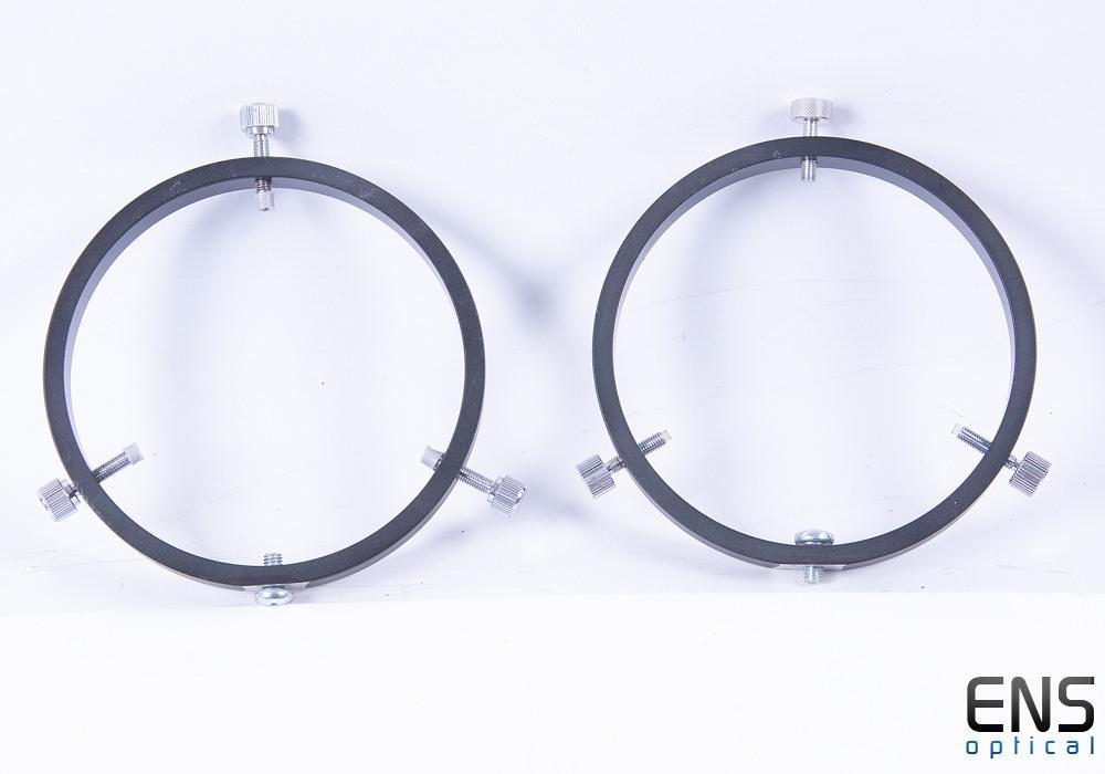 Guide Rings for 80-90mm O.D Telescope - No bar or bracket