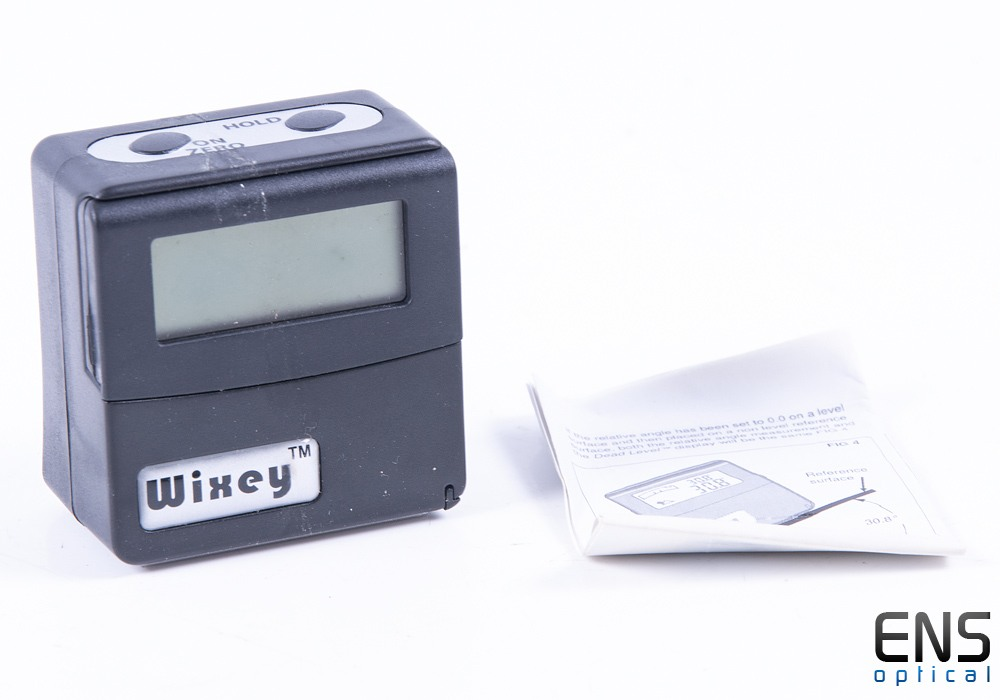 Wixey WR365 Digital Angle Gauge With Level And Flip Up Display