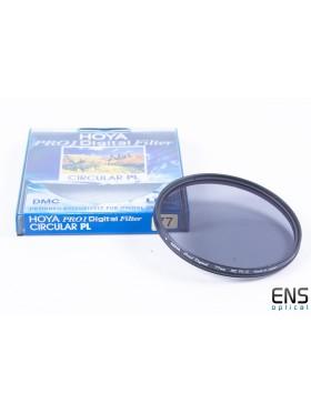 Hoya 77mm Pro1 Digital Circular Polarising Filter with case