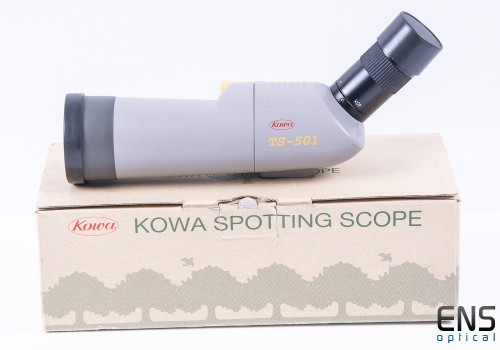 Kowa TS-501 Spotting Telescope with 20-40x Eyepiece - Boxed Nice!