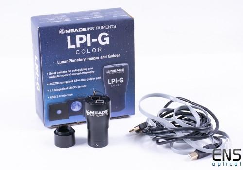 Meade LPI-G Color CMOS Autoguide Camera - Boxed