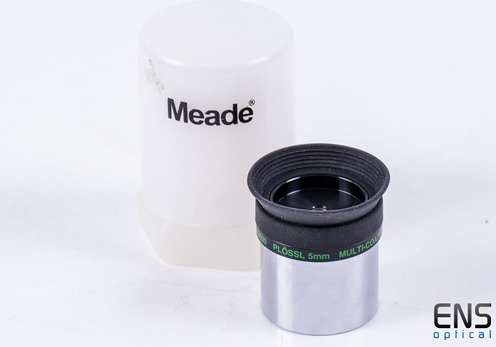 """Meade Series 3000 5mm Plossl Eyepiece 1.25"""" - Japan"""