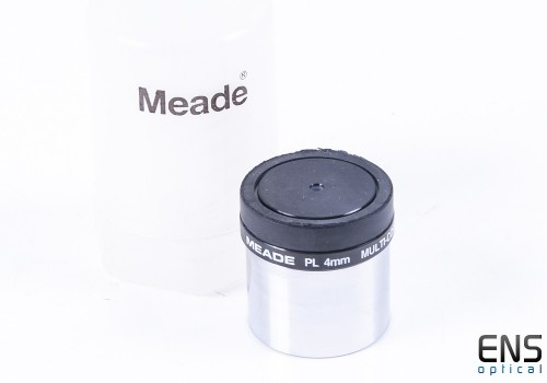 Meade 4mm Plossl Eyepiece with boltcase - 1.25""