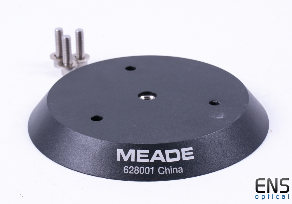 Meade Standard/Large Field Tripod Adapter Plate for LS6/LS/LT Telescopes 628001