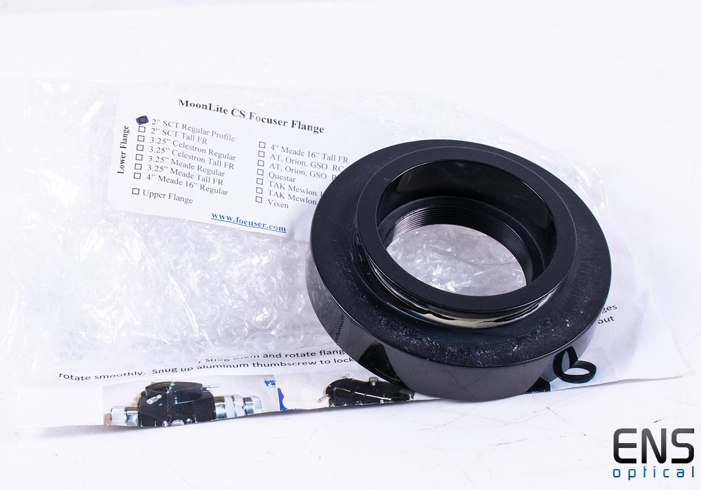 "MoonLite CS Focuser Flange for 2"" Standard SCT"