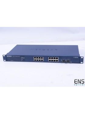 Netgear ProSafe GS716T 16 Port Gigabit Smart Switch *read*