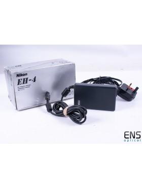 Genuine Nikon EH-4 DSLR Camera Mains AC Power Supply D1, D1X, D1H