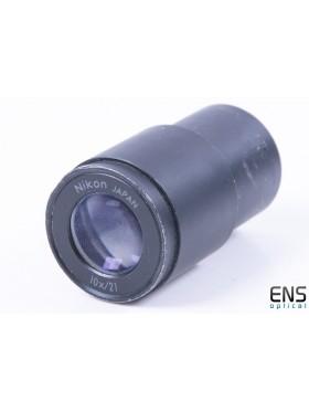 """Nikon 10x/21 Microscope Eyepiece - 0.965"""""""