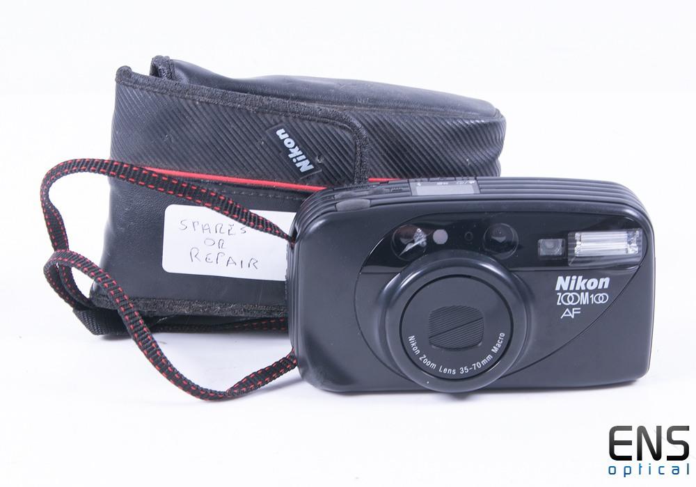 Nikon Zoom 100 35mm Film SLR Camera *SPARES*