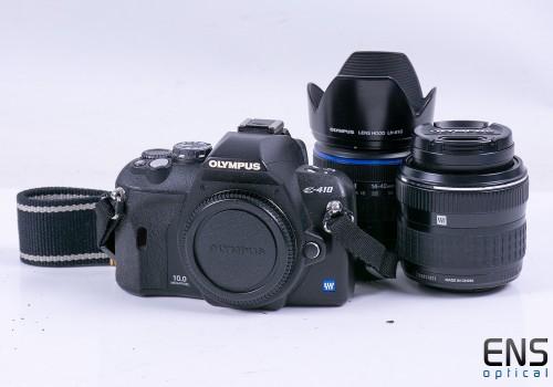 Olympus E-410 10.0MP DSLR kit w/ 17.5-45mm & 14-42mm