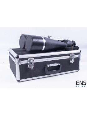 Helios 25x100 Binoculars with Bak-4 Prisms 2.5º Fov - Boxed