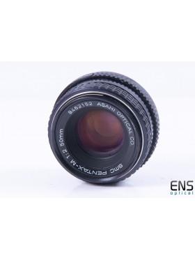 Pentax Asahi 50mm f/2 PK Multi Coated Prime Lens - 8462152