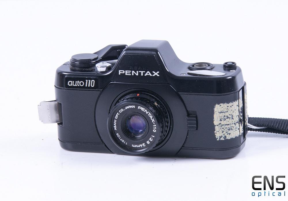 Pentax Auto 110 Compact Camera w/ 24m Lens *SPARES*
