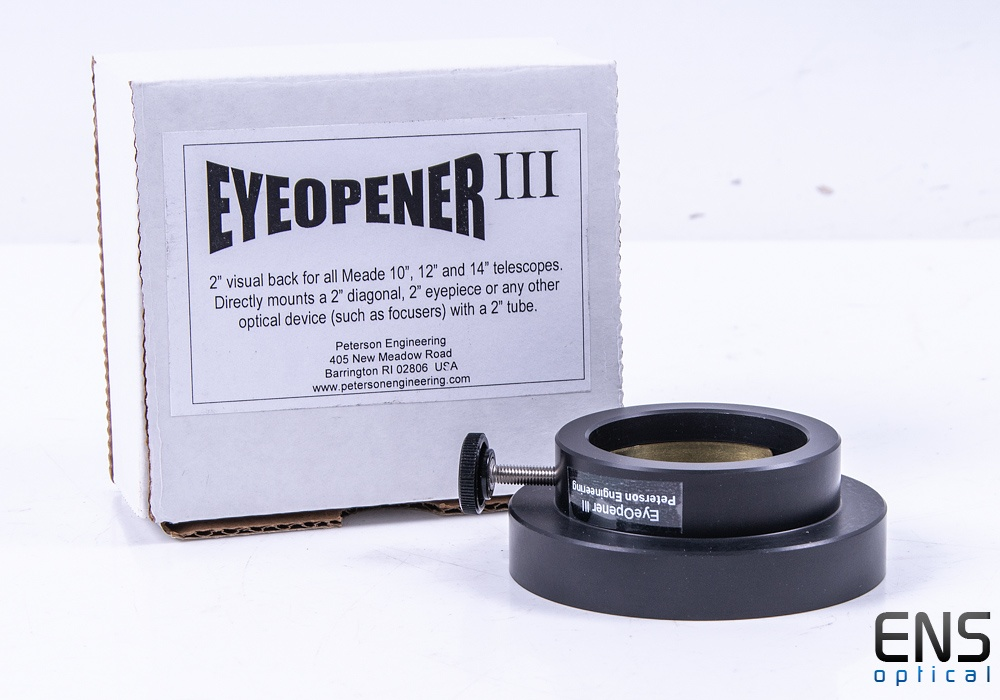 "Peterson Engineering Eyeopener III Visual Back for 10, 12 & 14"" SCT's"